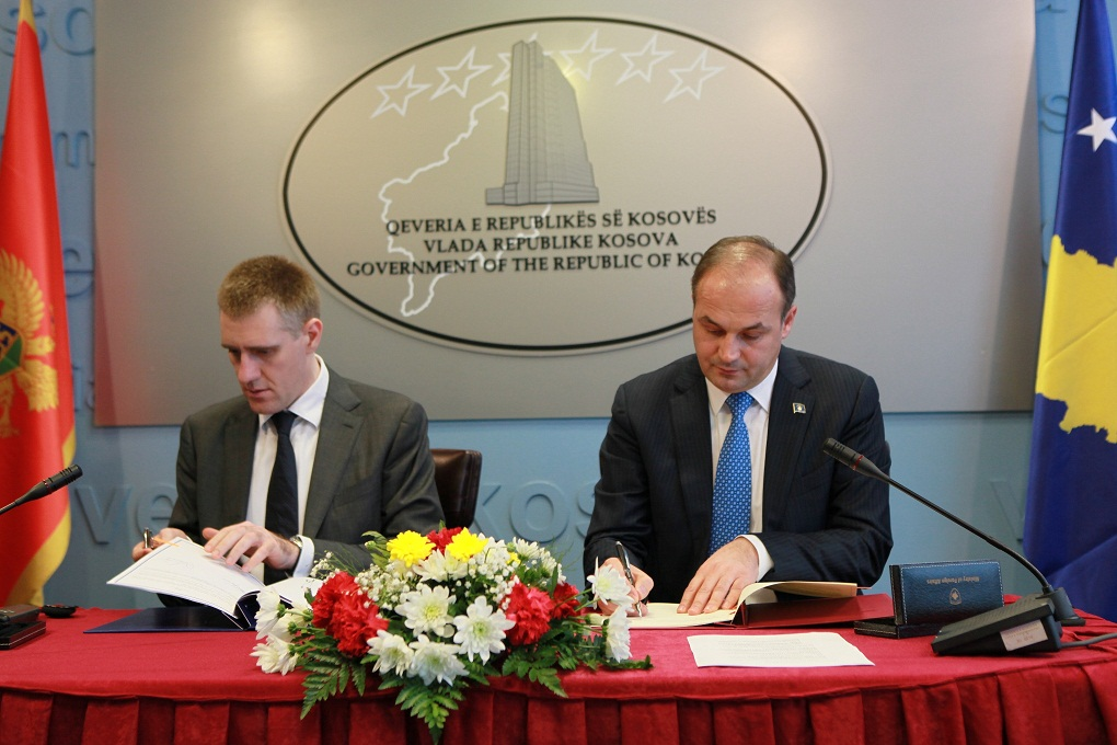 Kosovo and Montenegro say that there are no open issues between them