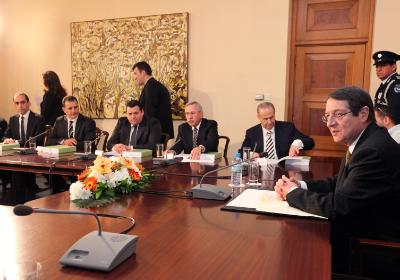 All ministers of the government of Cyprus resign
