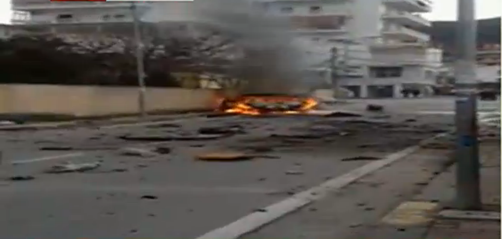 Car bomb kills a man in Tirana