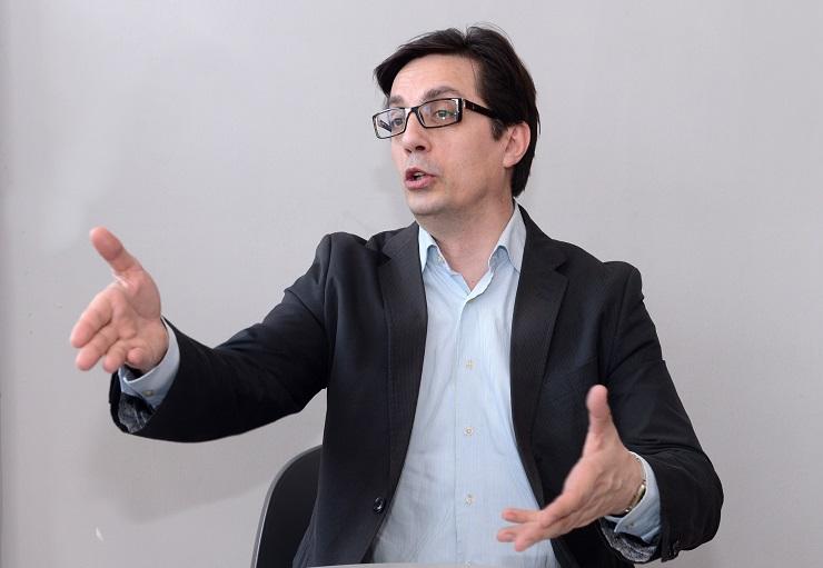Pendarovski, presidential nominee of the biggest opposition party LSDM
