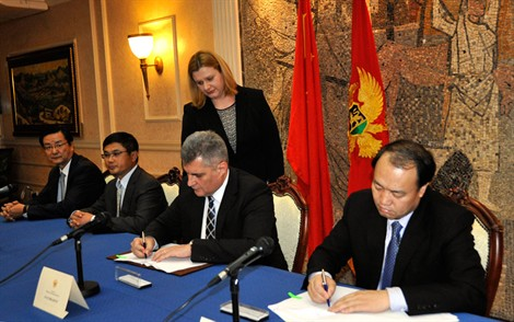 Contract signed for the construction of highway