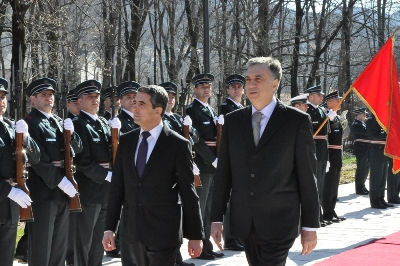 Bulgarian President on official visit in Montenegro