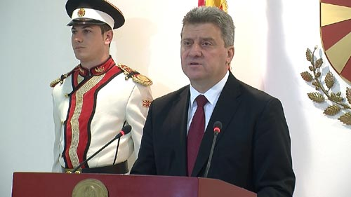 Ivanov runs for a second presidential term in office