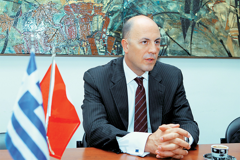 Turkish ambassador in Athens talks about the Greek-Turkish relations and the Cyprus matter