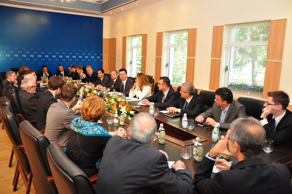Opposition informs ambassadors on the breach of consensus by the Albanian government