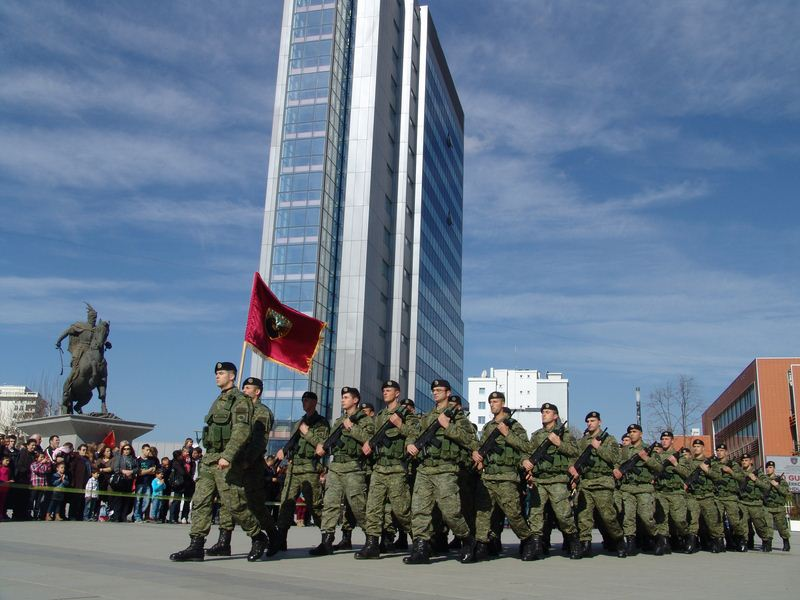 Farewell to Security Forces, Kosovo's Armed Forces are born