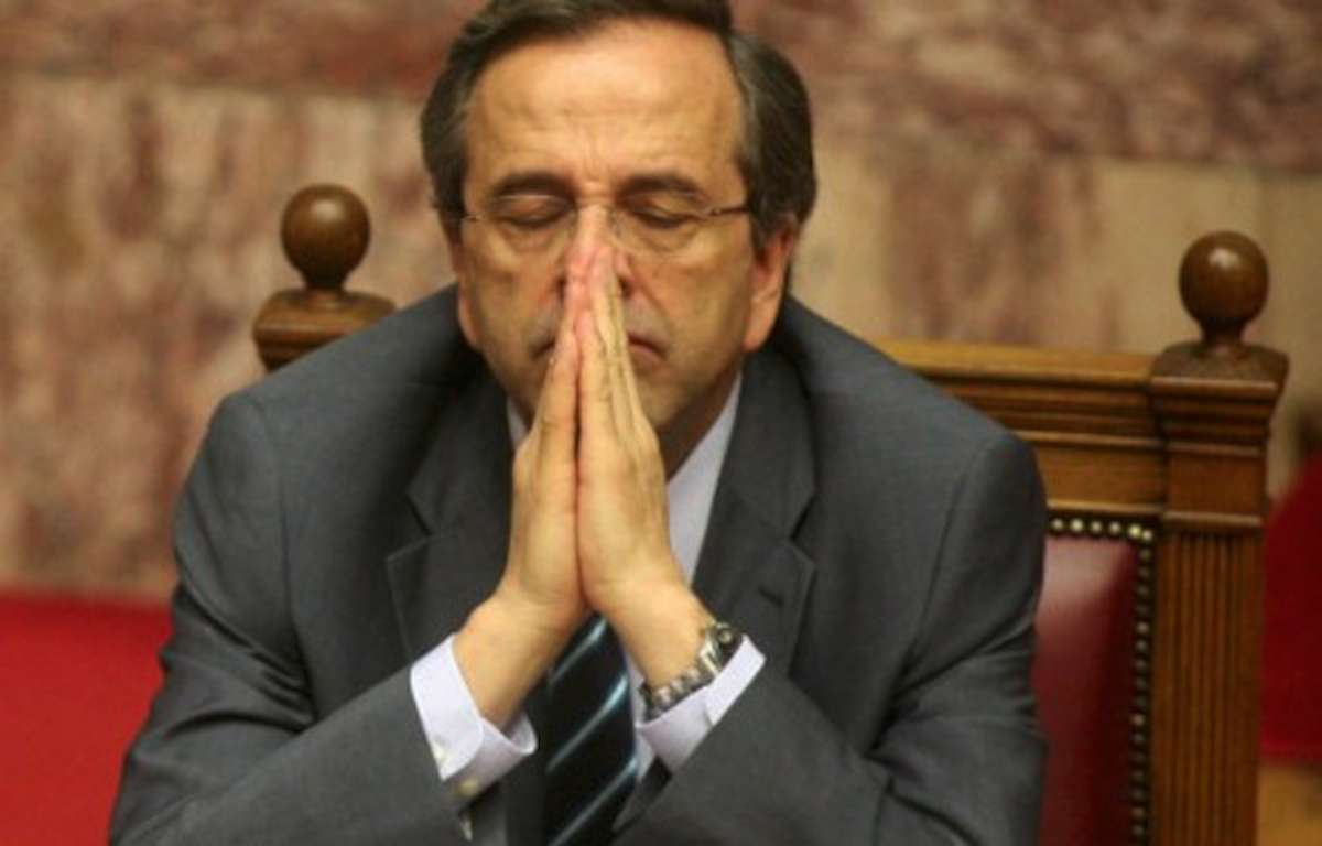 Samaras & Merkel tackle anti-bailout euroscepticism from different standpoints