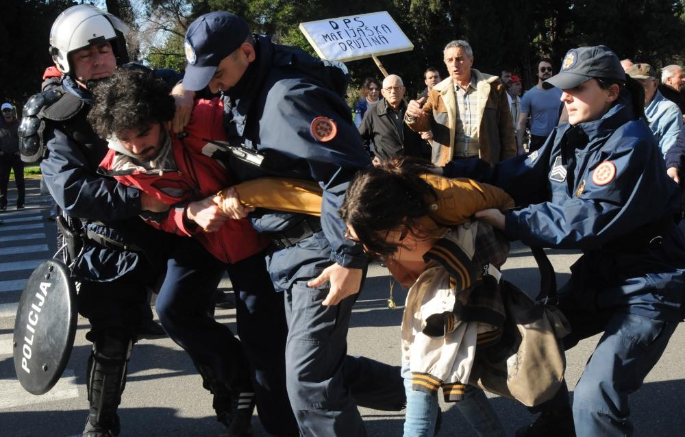 Protests in Podgorica