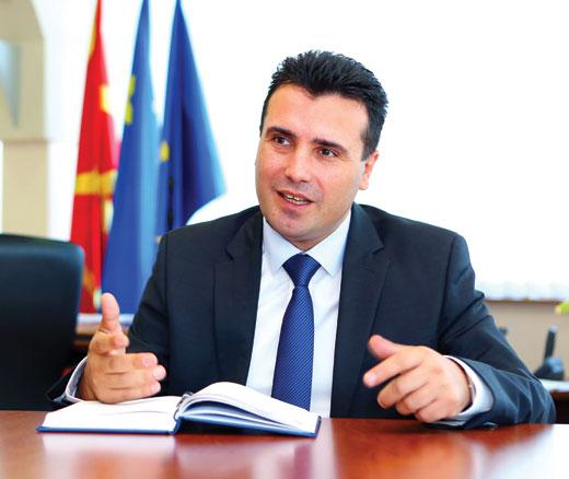 Zaev: 'Macedonia is suffering censorship'