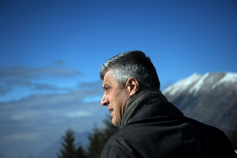 Prime Minister Thaci confesses: 'I haven't been on the front line of the war'