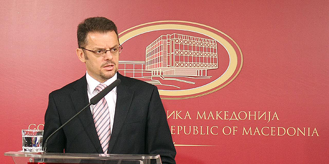 Stavrevski, a potential presidential candidate of VMRO-DPMNE