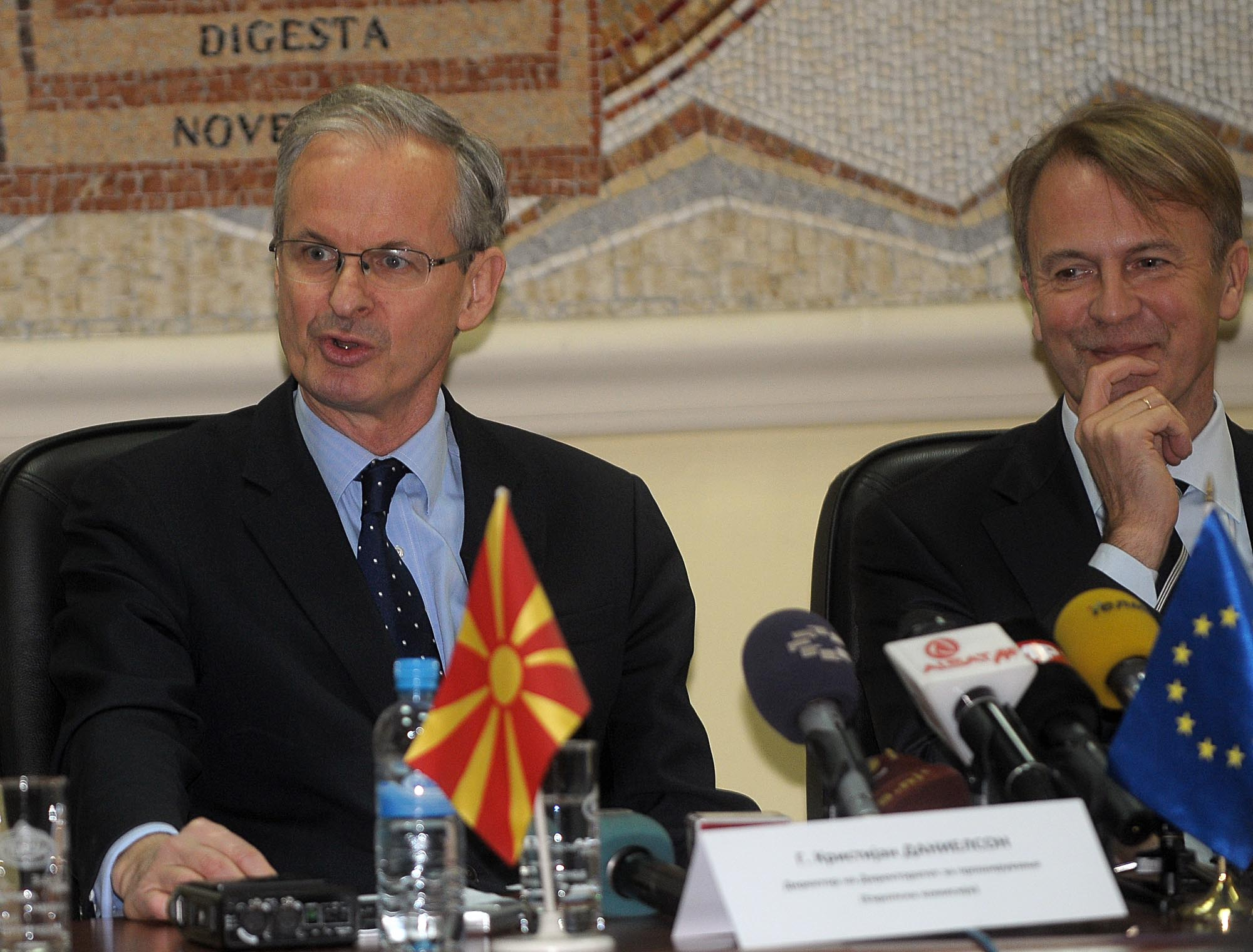 Name dispute needs to be resolved for FYROM's EU accession talks