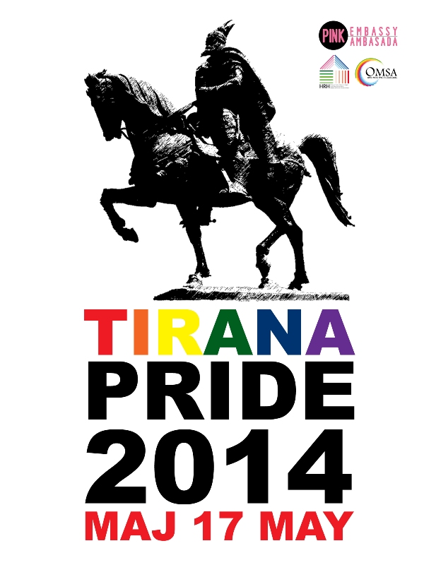 First ever Tirana Pride to be held on 17 may 2014