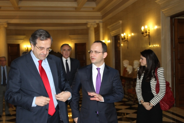 Foreign Minister Bushati-Samaras: Pending issues between the two countries must be tackled in the spirit of trust and dialogue