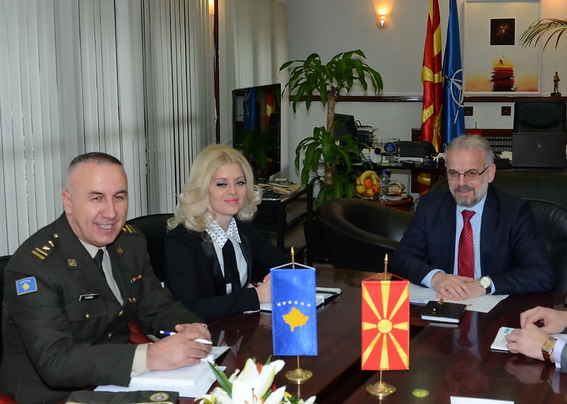 Skopje and Pristina, open for cooperation in the domain of defense
