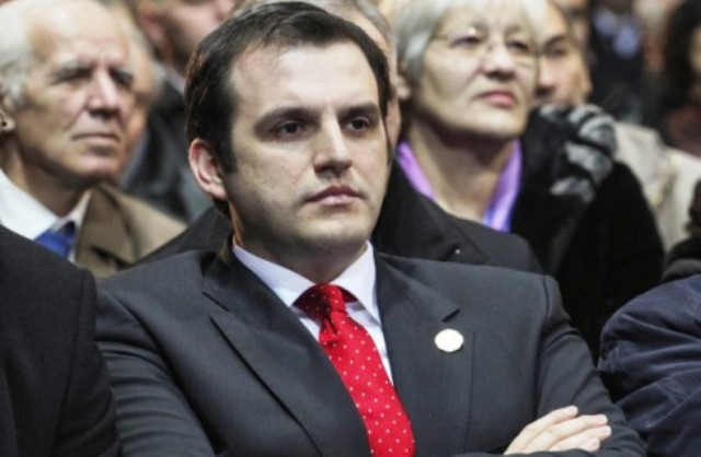 Former president's son arrested on charges of organized crime