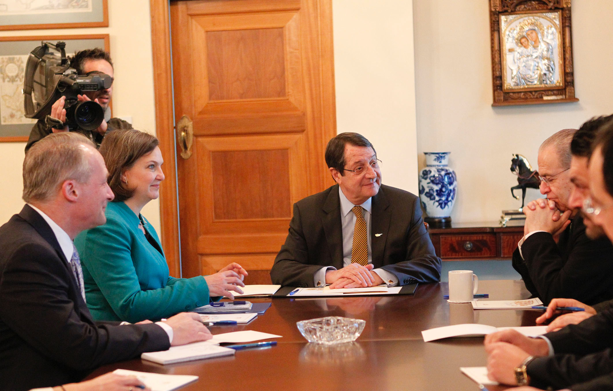 US Assistant Secretary discussed Cyprus issue with President