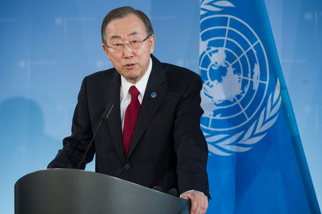 Ban Ki Moon announced that a joint communiqué between Cyprus' communities is imminent