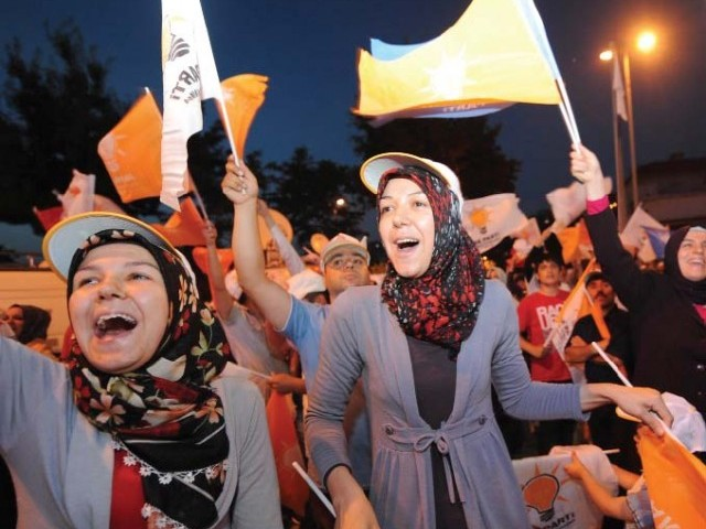 Comments of the turkish Mass Media on Erdogan's victory