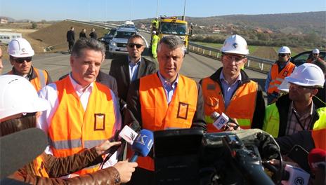 Will the highway to FYROM make the Kosovar economy stronger?