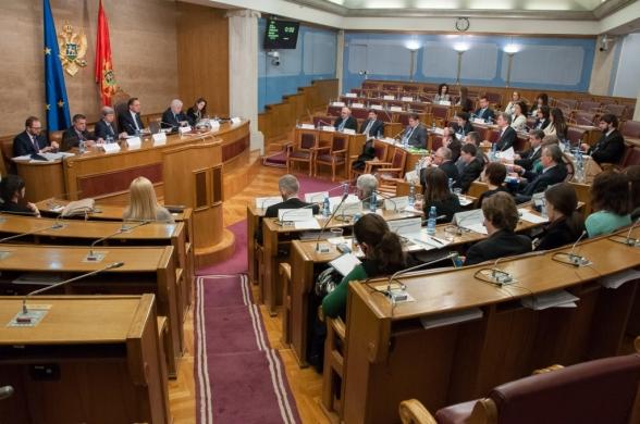 Meeting between Montenegrin and European parliamentarians
