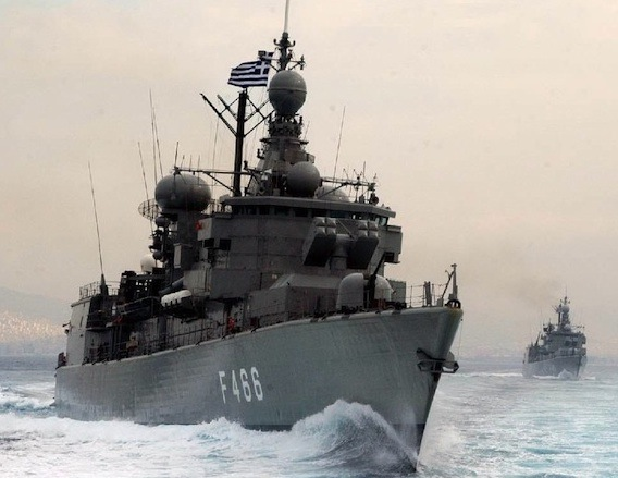 Turkish war ship violated the greek territorial sea for 19 hours
