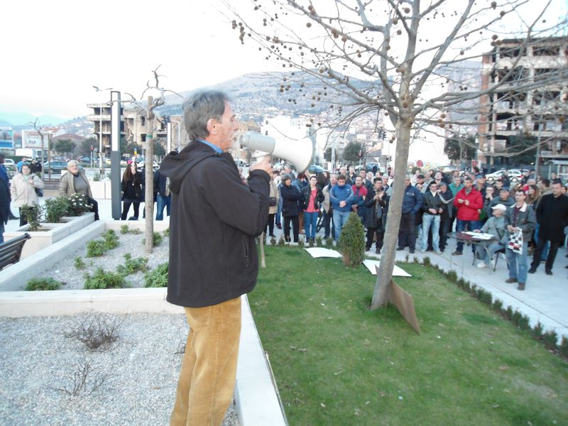 Mostar Citizens Accuse Police of Brutality at Protest Yesterday