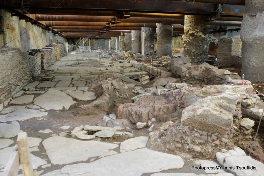 Thessaloniki metro ruins require more time and money