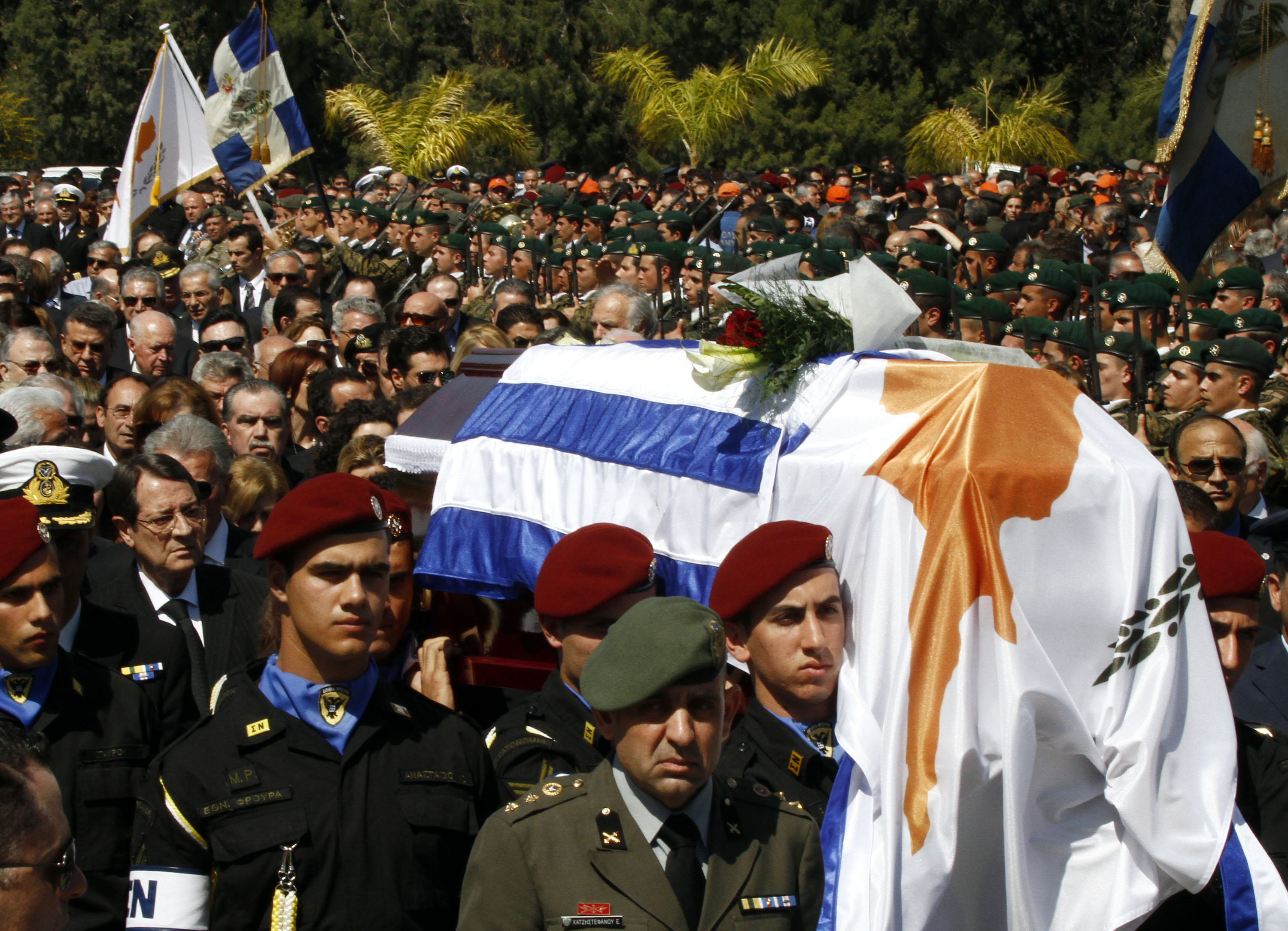 """Thousands paid last respect to President's beloved """"son"""""""