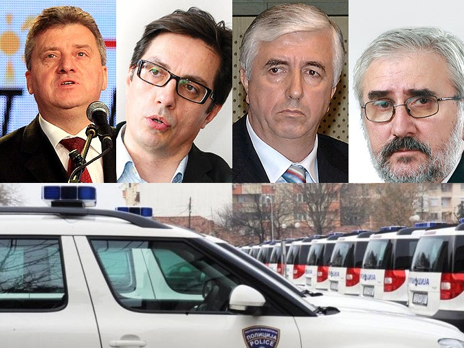 Strong police measures for presidential candidates