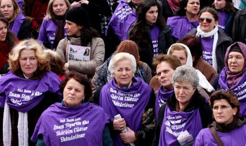 Sexually abused women in Kosovo demand a special status