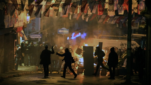 Two dead during riots in Turkey