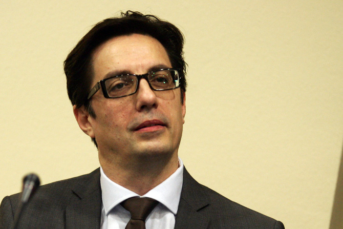 There's no solution to the crisis without international intermediacy, says Stevo Pendarovski