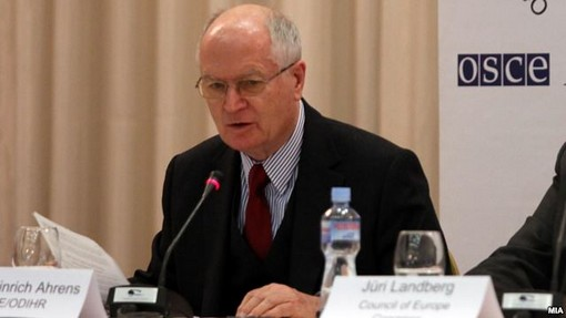 OSCE/ODIHR calls on Skopje to hold free and democratic elections