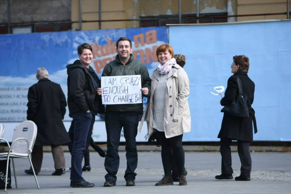 'Crazy Enough to Change Bosnia' Project Aims to Draw Widespread Attention to B&H Protests