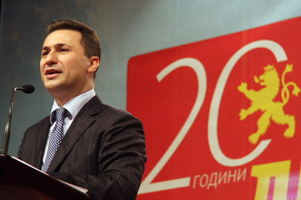 Gruevski: BDI exaggerated it with the consensual president, Albanians are only an ethnic issue