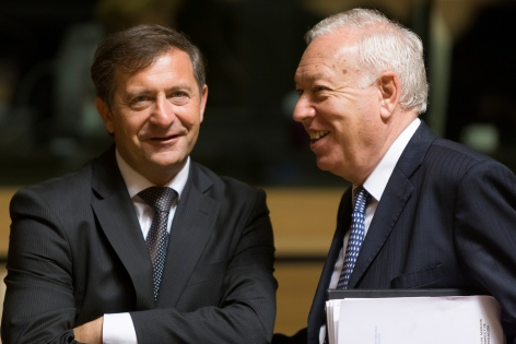 Spanish Foreign minister on a two day visit to Slovenia