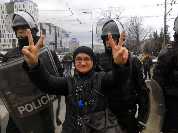 Police Prevented Blockade of Traffic in Sarajevo