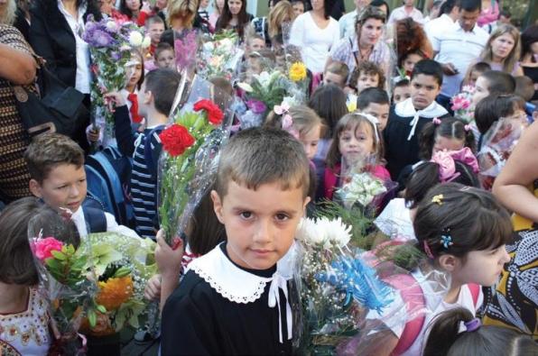 Teachers' Day is celebrated throughout Kosovo