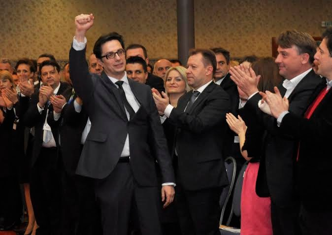 Pendarovski, official presidential nominee of the Macedonian opposition