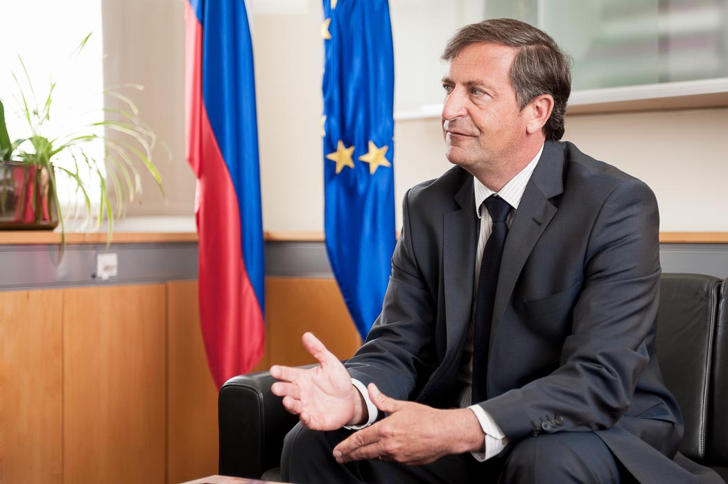 """Slovenia's FM rejects criticism for standing """"too close"""" to Russia"""