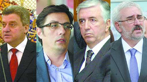 Who are the presidential candidates in FYR Macedonia