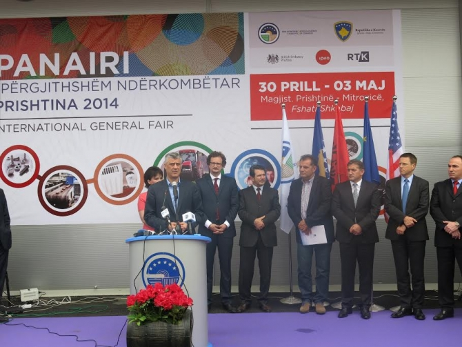 """""""Pristina 2014"""" fair joins companies from the region"""