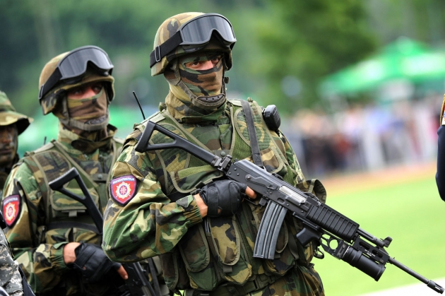 Serb gendarmerie enters once again the territory of Kosovo