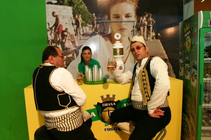 A traveling fair to know Albanian products