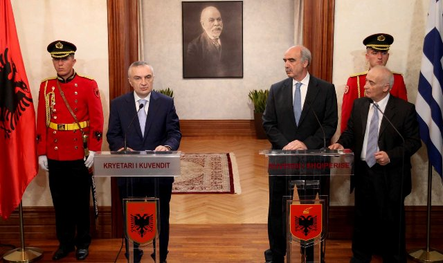 Albania, Balkan and the recovery of Greece