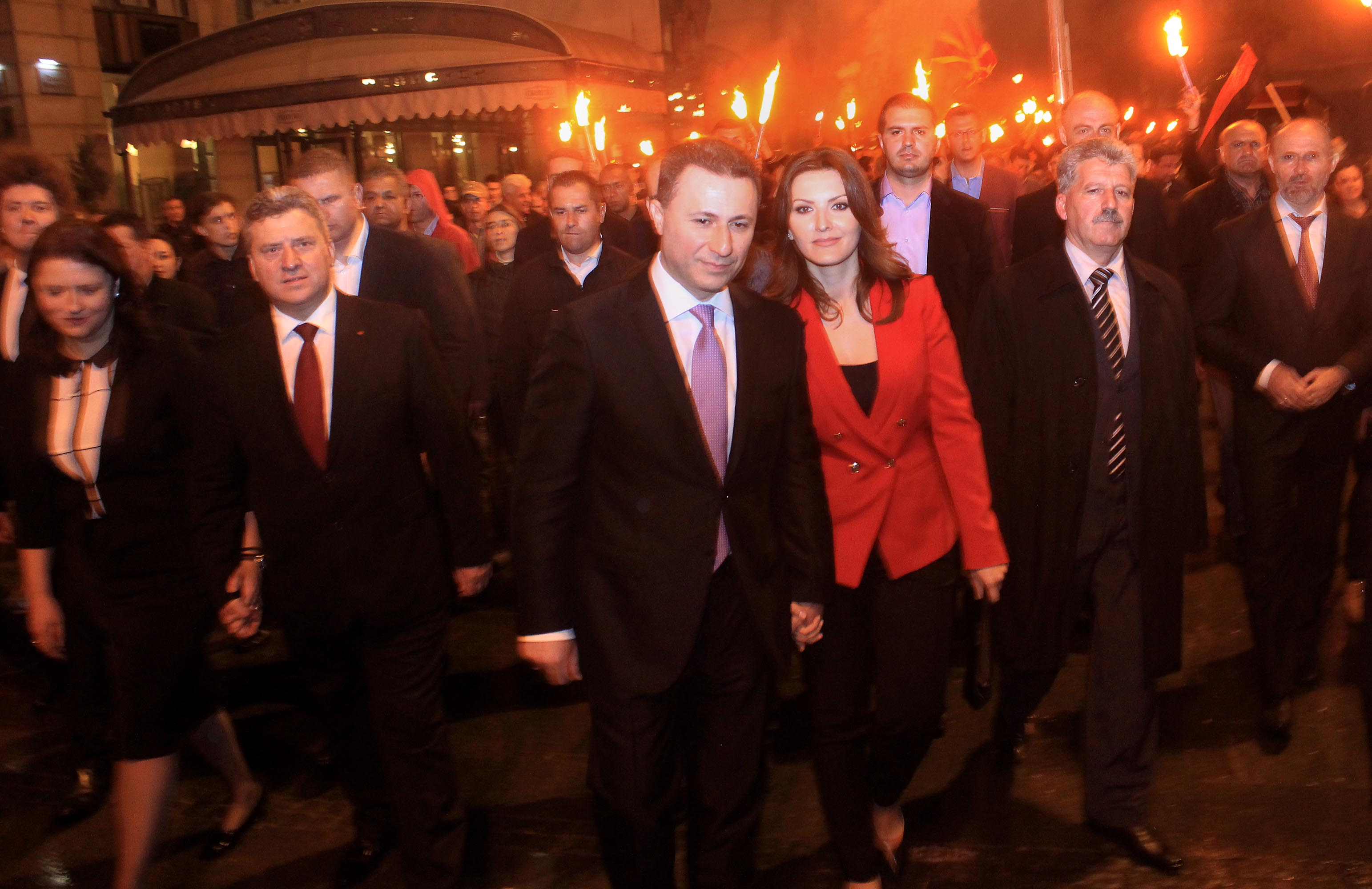 VMRO-DPMNE achieves an absolute victory, what's the new parliamentary composition