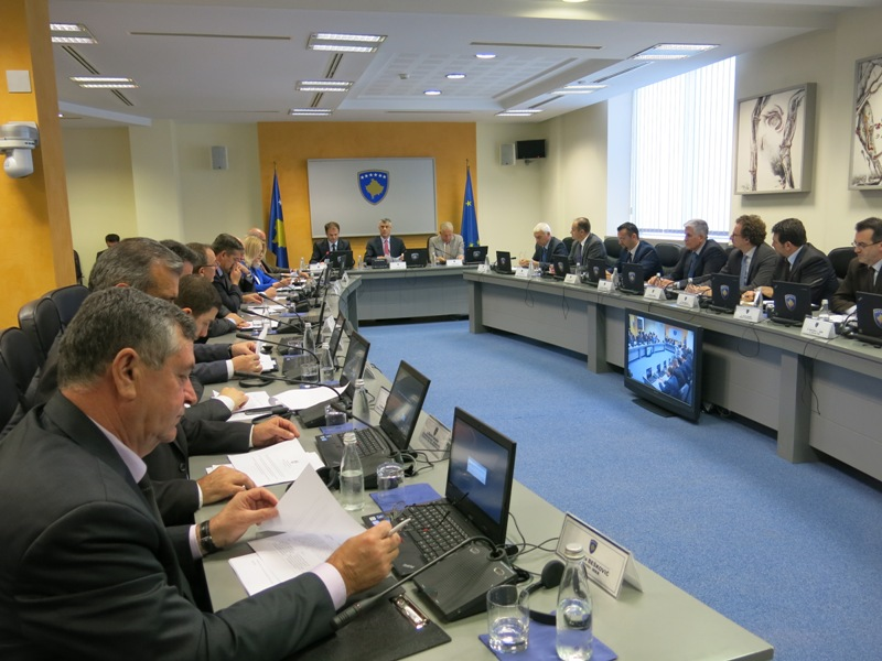 Authorities in Kosovo, a law on legal and financial assistance for suspects of war crimes