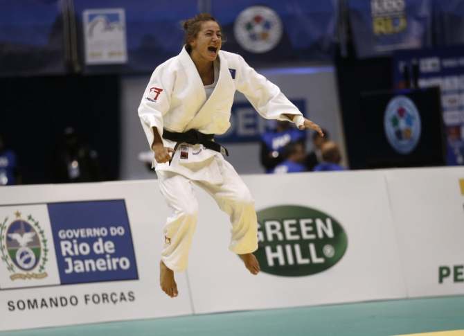 Majlinda Kelmendi becomes European judo champion