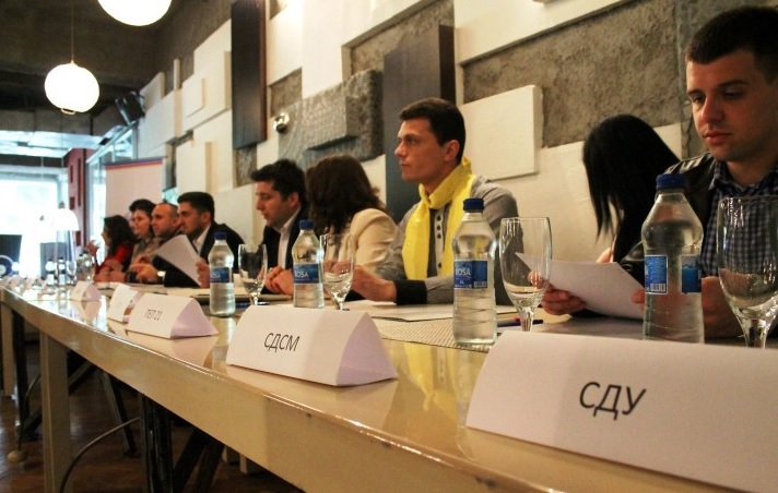 Skopje, 13 parties signed the declaration for the improvement of the position of young people in politics